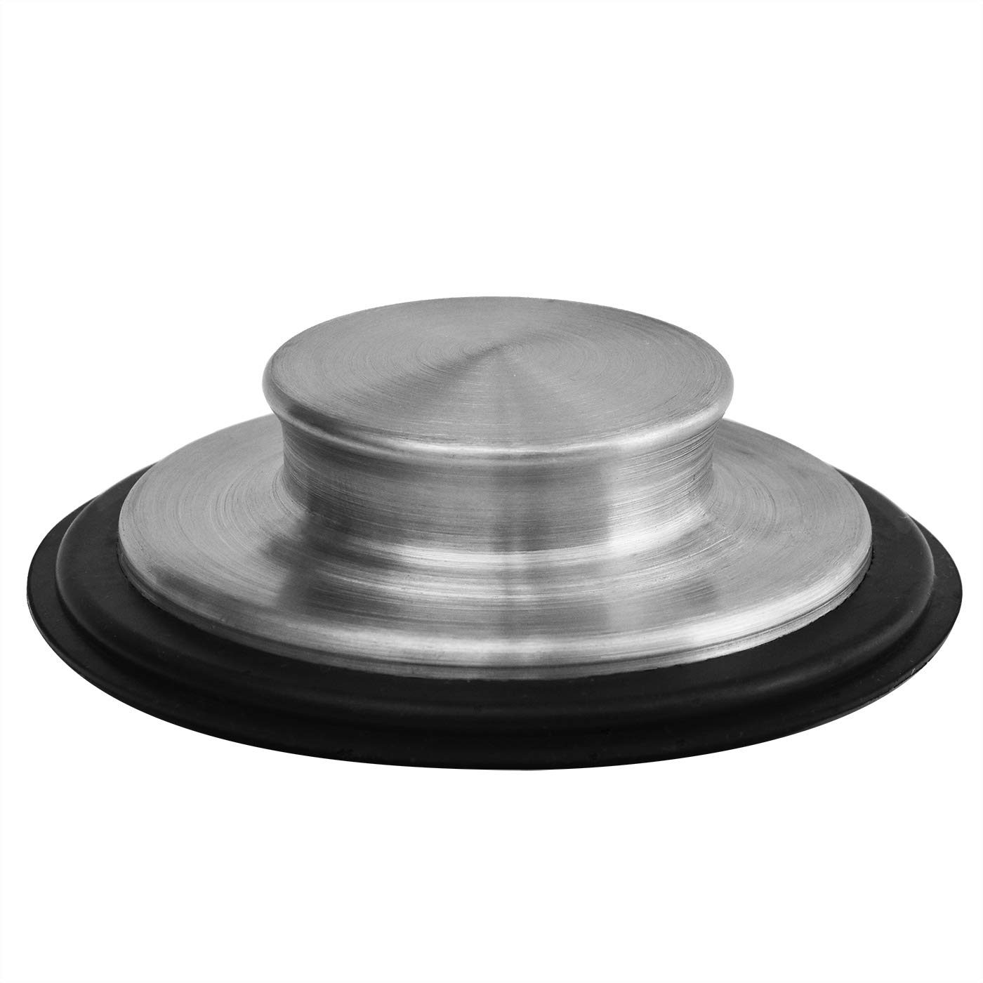3 3/8 inch (8.57Cm) - Kitchen Sink Stopper Stainless Steel Garbage Disposal Plug Fits Standard Kitchen Drain size of 3 ½ Inch (3.5 Inch) Diameter