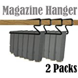 E-ONSALE Universal Handgun Pistol Magazine Hanger Holder (2 Packs)