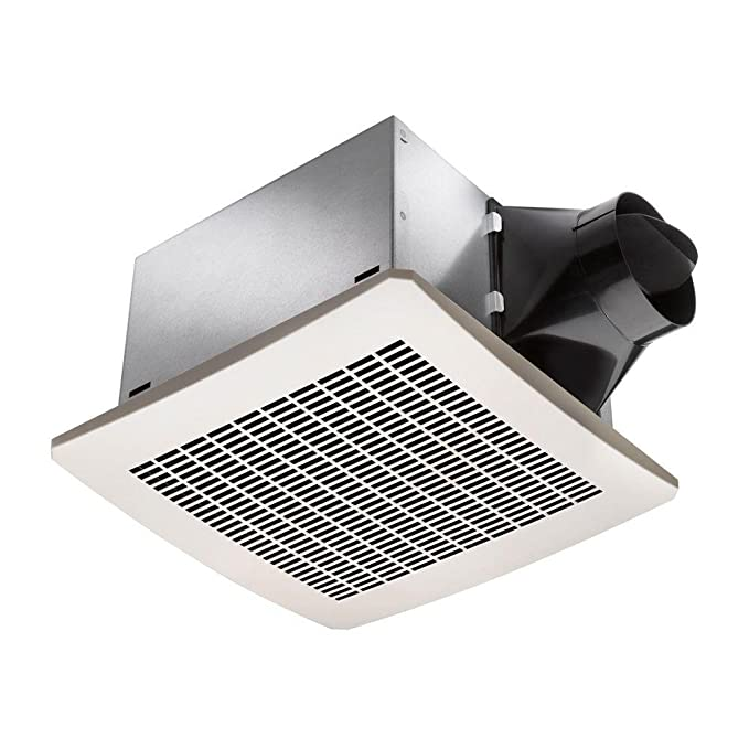 Delta Electronics VFB25ACH Breez 80 CFM Humidity Sensor Exhaust Fan, Less Than 0.3 Sone
