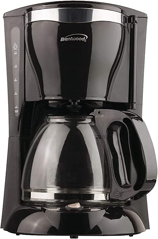 Brentwood ts-217 12 taza cafetera eléctrica, Negro por Brentwood ...
