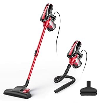 MOOSOO D600 Corded Stick Vacuum Cleaner