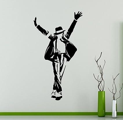 Michael Jackson Wall Vinyl Decal American Singer Vinyl Sticker King ...