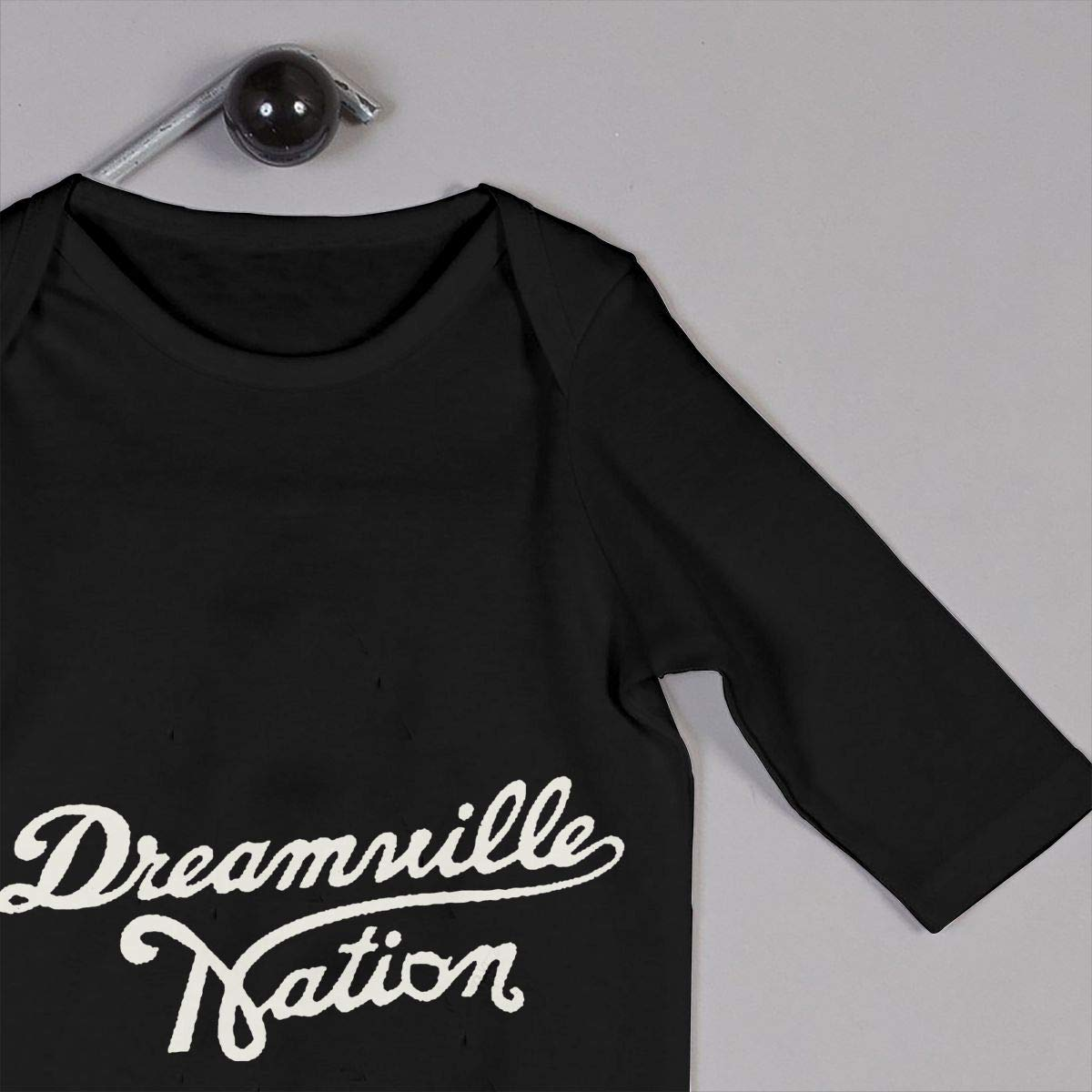 Custom Dreamville Records Logo Unisex Long Sleeve Baby Gown Baby Bodysuit Unionsuit Footed Pajamas Romper Jumpsuit