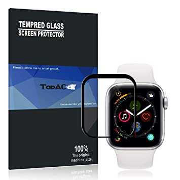 Protector Pantalla Apple Watch Series 4 40MM TopACE 9H Dureza Full Coverage Cristal Templado para Apple Watch Series 4 40MM: Amazon.es: Electrónica