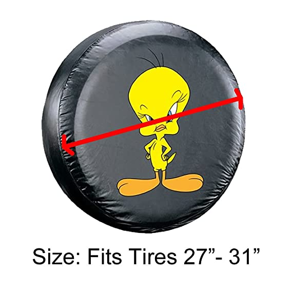 Amazon.com: Tweety Bird Original Spare Tire cover Universal Size 2731 Tires: Automotive