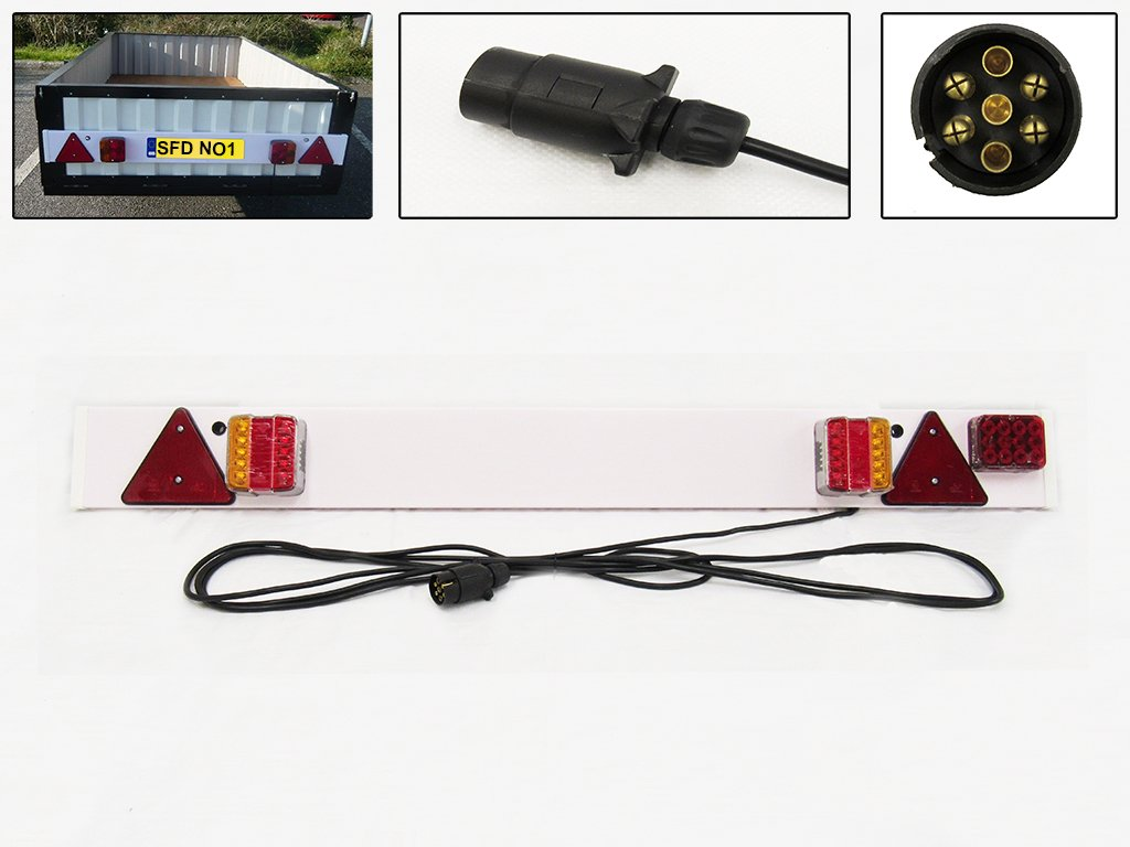 3ft LED Trailer Light Board with 2.6 Metre Cable