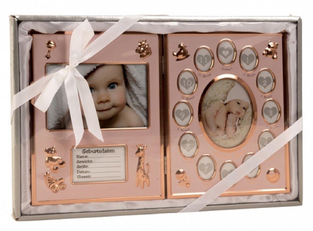 1732 Baby Bilderrahmen Mein erstes Jahr Fotorahmen 41, 5 x 27, 5 cm in Bronze Unbekannt