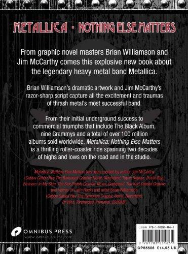 McCarthy, J: Metallica Nothing Else Matters: The Graphic Nov: Amazon.es: Mccarthy, Jim: Libros en idiomas extranjeros