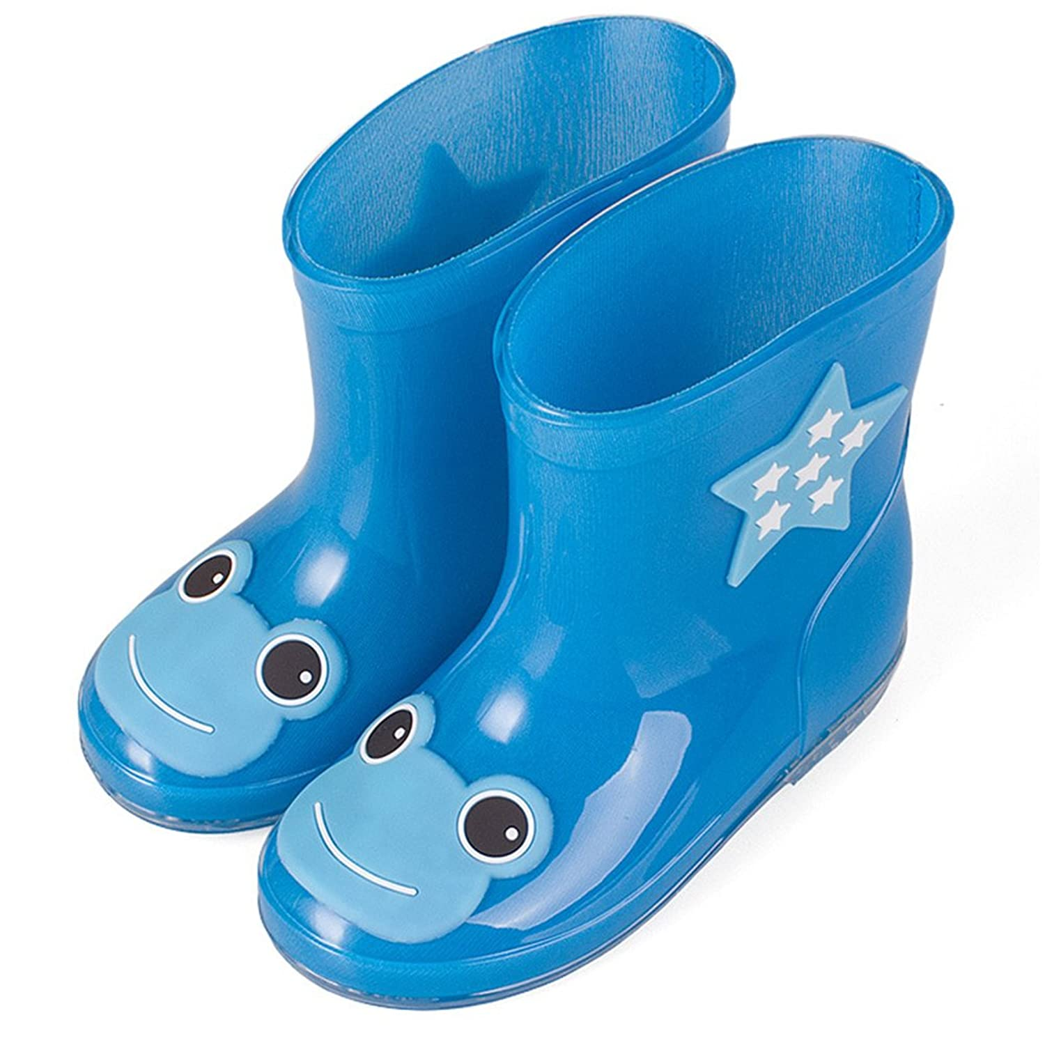 Zhuhaitf Light Weight Kids Children's Waterproof Rubber Rain Boots /Wellington  Boots: Amazon.co.uk: Shoes & Bags