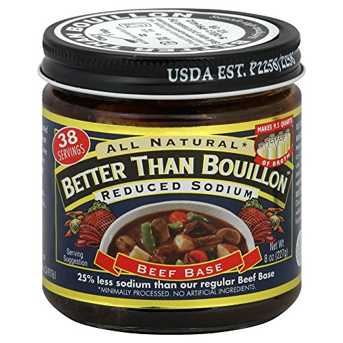 Beef Base - Reduced Sodium (Pack of 6) - Pack Of 6 -