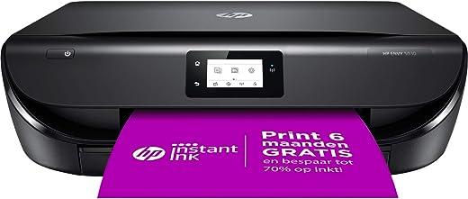 HP ENVY 5030 All-in-One, Draadloze Wifi kleuren inktjet printer voor thuis (Afdrukken, kopiëren, scannen) Inclusief 3 maanden Instant Ink