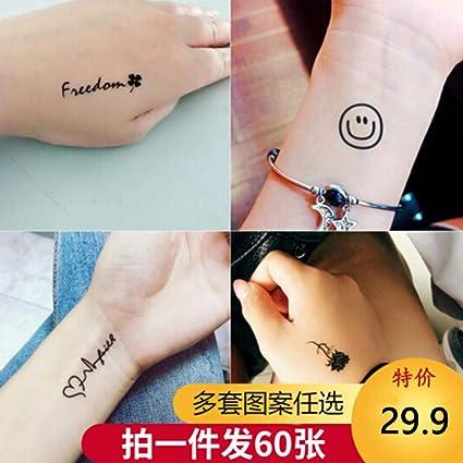 Pegatinas de tatuaje para hombres y mujeres personalidad ...