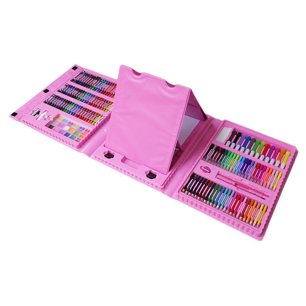 MagiDeal 176 Stück Malerei Stifte Filzstift Fasermaler für Kinder malen DIY Scrapbooking Handwerk
