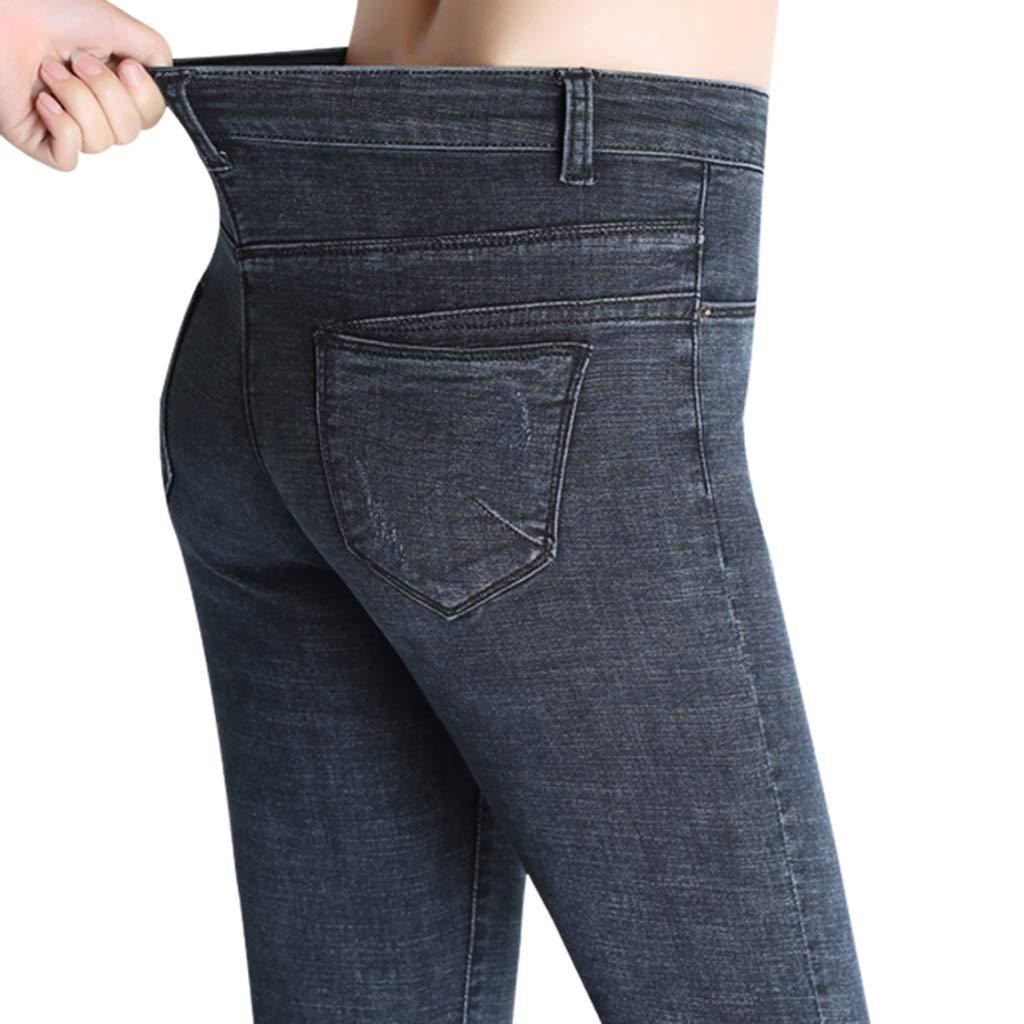 Pantalones Vaqueros gris humo Pantalones ajustados de ...