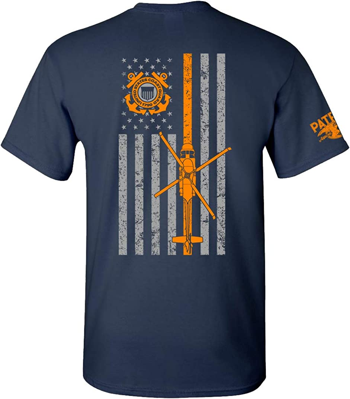 Patriot Apparel US Coast Guard USCG U.S. Armed Forces T-Shirt Tee