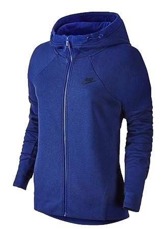 Nike Tech Fleece Fz Hoodie, women s, Tech Fleece Fz Hoodie, Deep Royal Blue 4c1712cb91