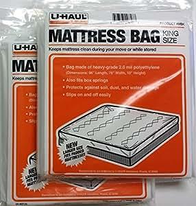 Amazon Com Uhaul Mattress Bag Protector King 96 Quot X 78