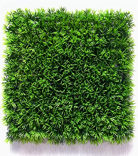 Artificial Boxwood Hedge Panels, Table Grass Runner Mats, Faux Greenery Mats for Outdoor Fence or Indoor Plants Wall, 10