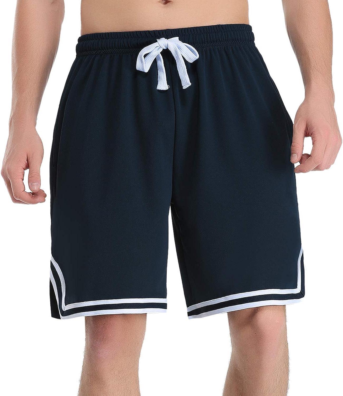 Hawiton Pantalones Cortos de Deporte para Hombre Pantalones Deportivos Verano de Algodón de Baloncesto Fitness Jogging: Amazon.es: Ropa y accesorios