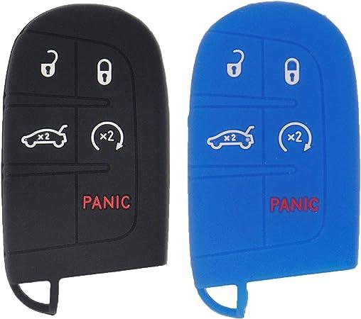 Lemsa 2 X Silikon Schlüsselanhänger Hülle Mit 5 Tasten Elektronik