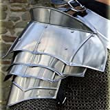Steel Warrior Pauldron Medieval Shoulder Armor Set 20g