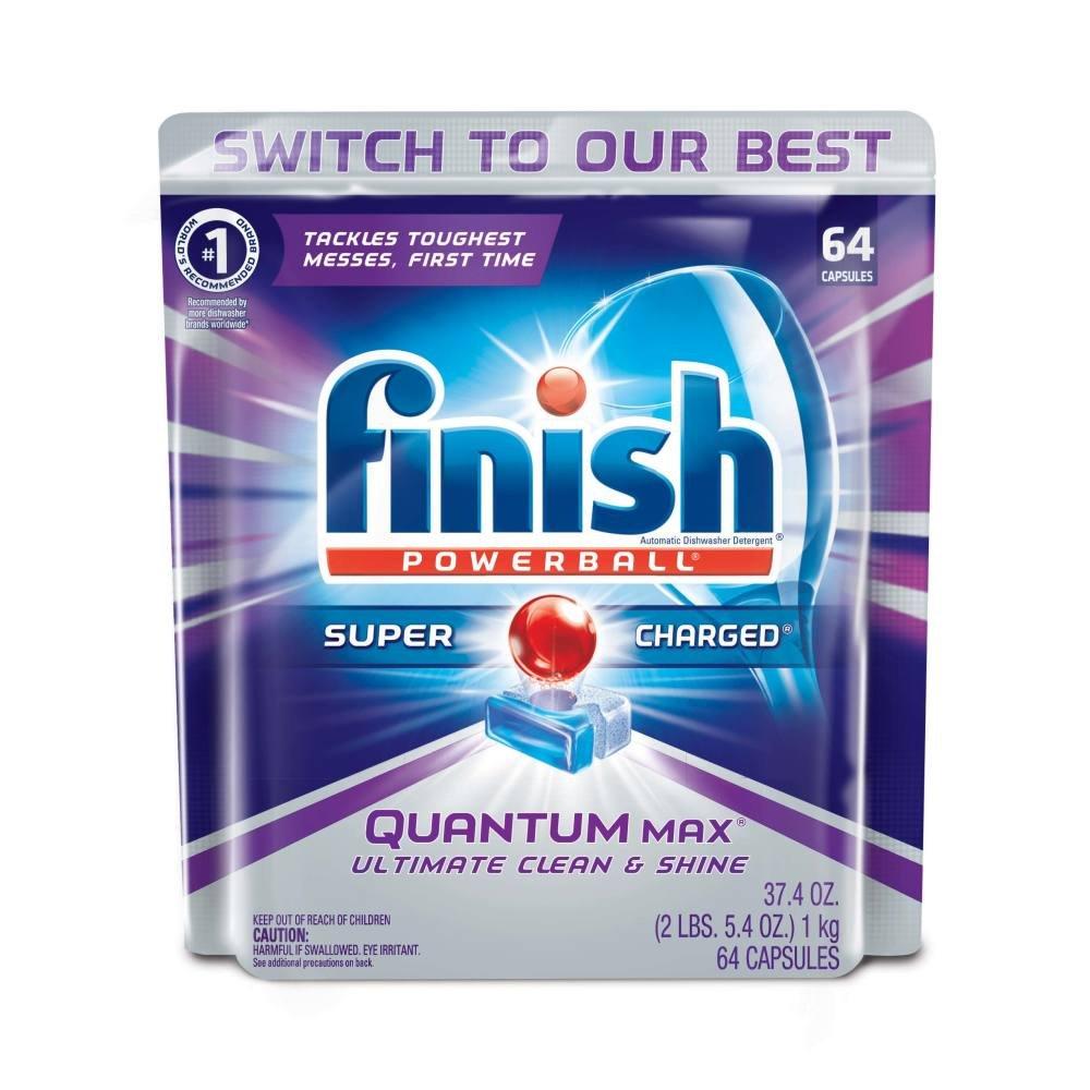 Amazon.com: Finish Powder Dishwasher Booster, Lemon