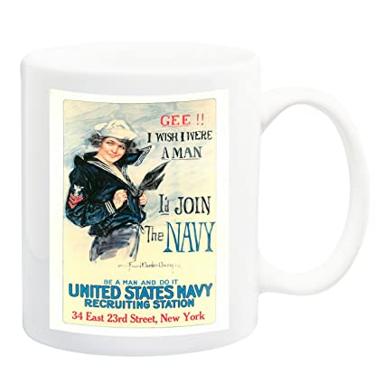 i wish i were a man navy poster