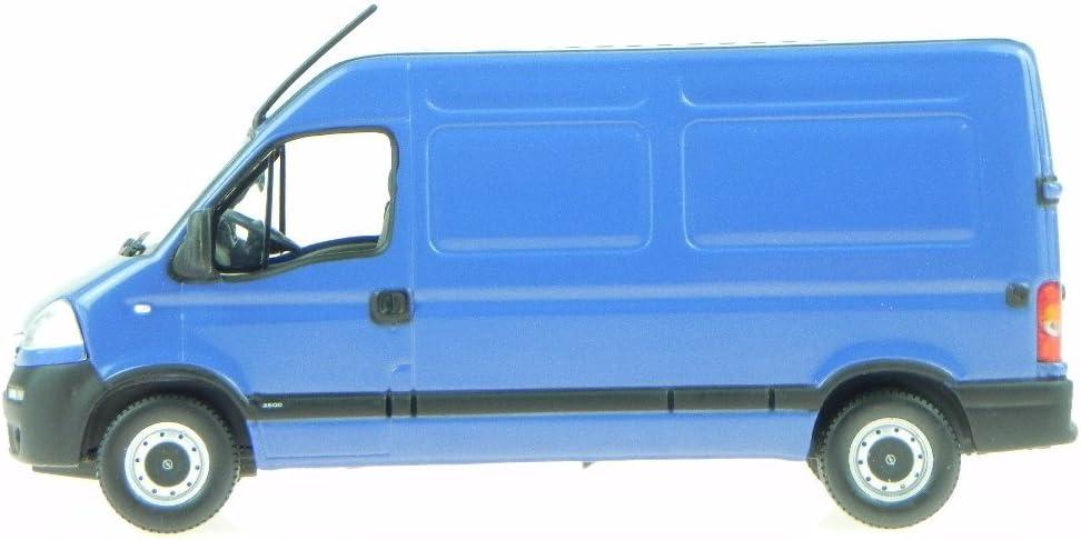 Norev Opel Movano Kastenwagen Blau Modellauto 1 43 Spielzeug