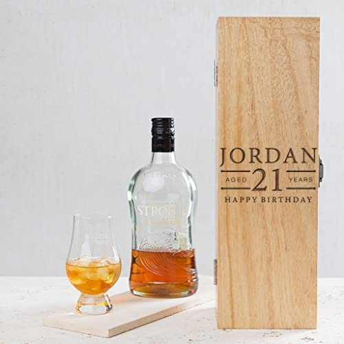 21st Birthday Gifts For Men Him Son Personalised Keepsake Alcohol Box