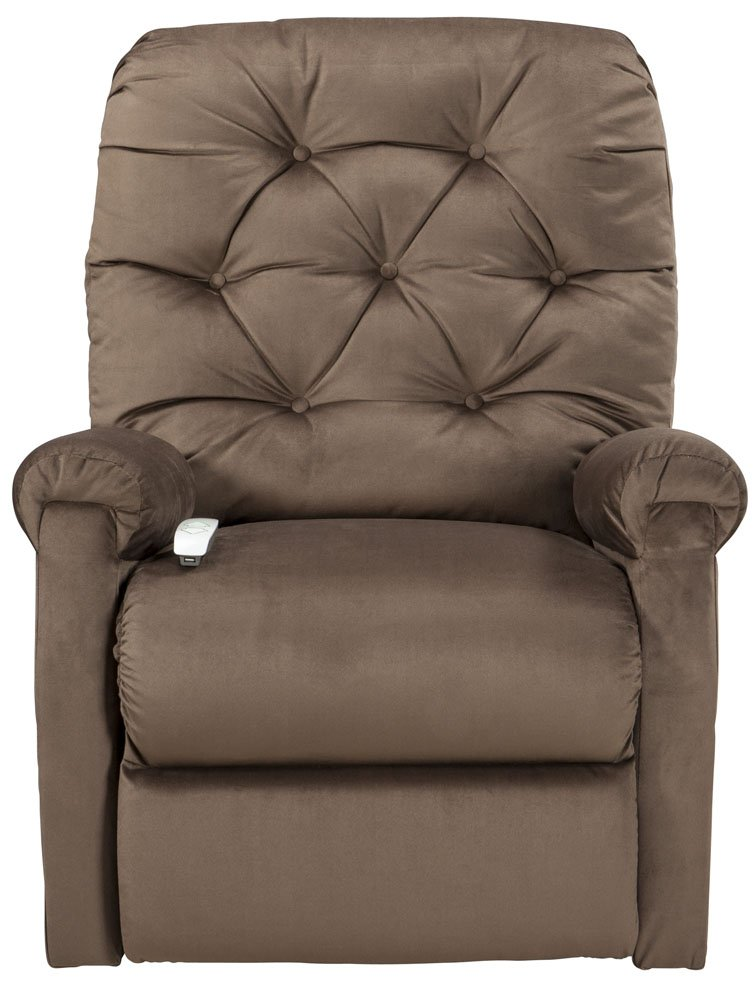 Superieur Amazon.com: Mega Motion Lift Chair Easy Comfort Recliner LC 200 3 Position  Rising Electric Power Chaise Lounger   Chocolate Brown Color Fabric:  Kitchen U0026 ...
