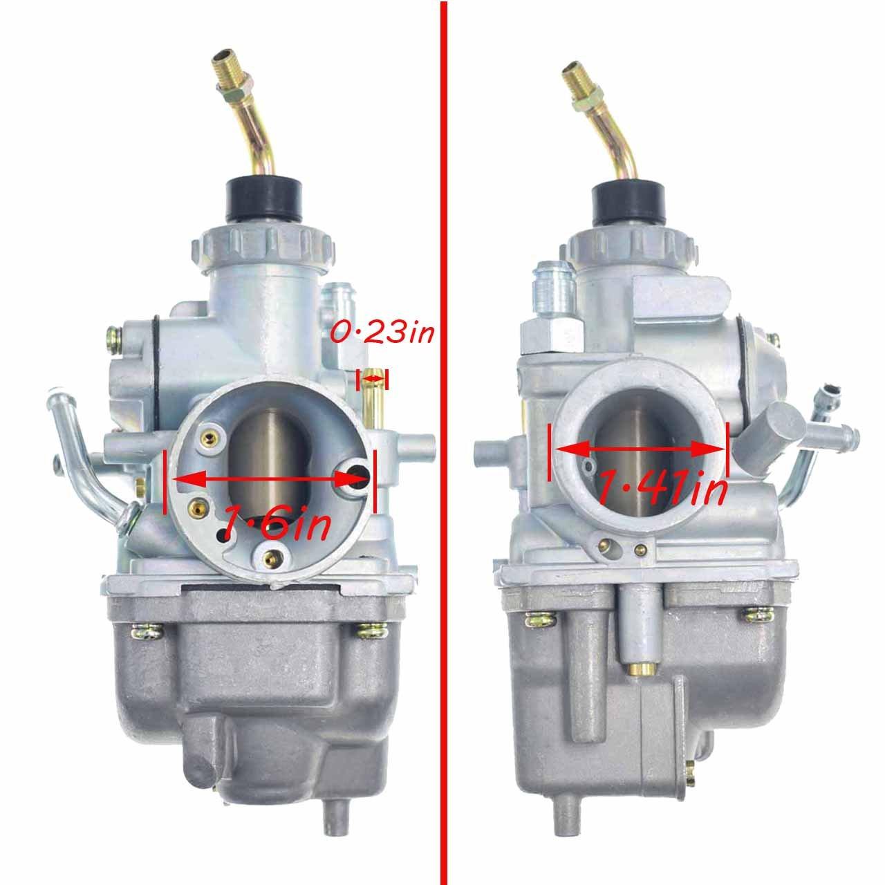 New TTR125 Carburetor for YAMAHA TTR 125 TTR-125 Carb Carborator 2000-2007 Yamaha TTR125L TTR125E TTR125LETTR125 by FYIYI (Image #2)