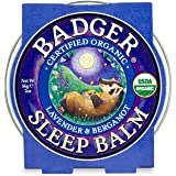 Badger - Sleep Balm, Lavender & Bergamot, Natural Sleep Balm, Scented Relaxing Balm for Children and Adults, Calming…