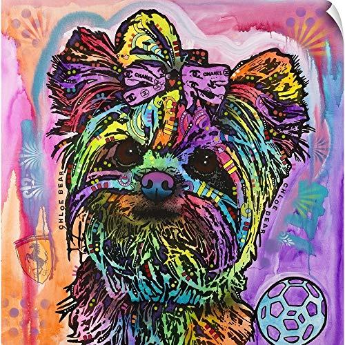 CANVAS ON DEMAND Chloe Bear Wall Peel Art Print, 16