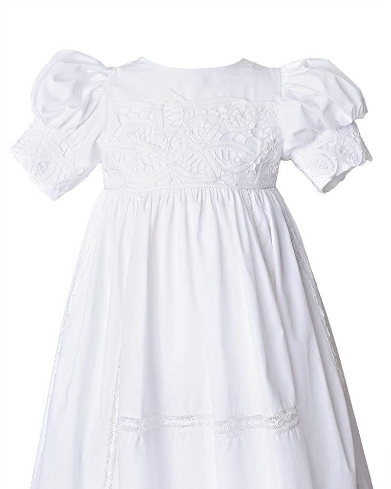 Margaret Cotton Christening Baptism Embroidery Gown