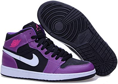 Nike Air Jordan 1 Retro High Og Mujer Zapatillas De Baloncesto Negro Usa 5 5 Uk 2 5 Eur 36 Shoes