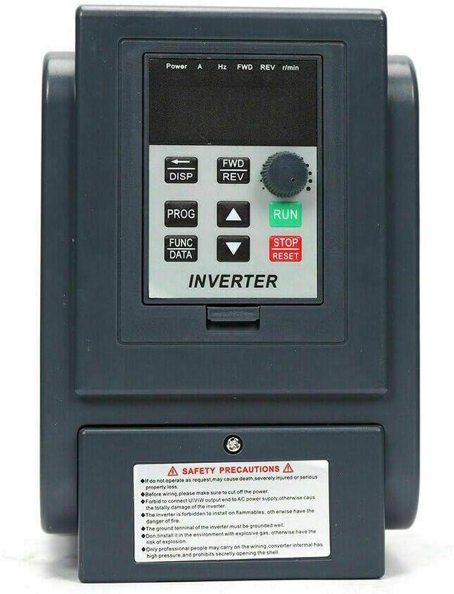 Generic Vfd Drehzahlregler Zephyri Einphasig Vfd Drehzahlregler Frequenzumrichter Für 1 Phasiger 0 75 Kw Wechselstrommotor Auto