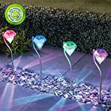 Led Diamond Light Garden Pathway Light