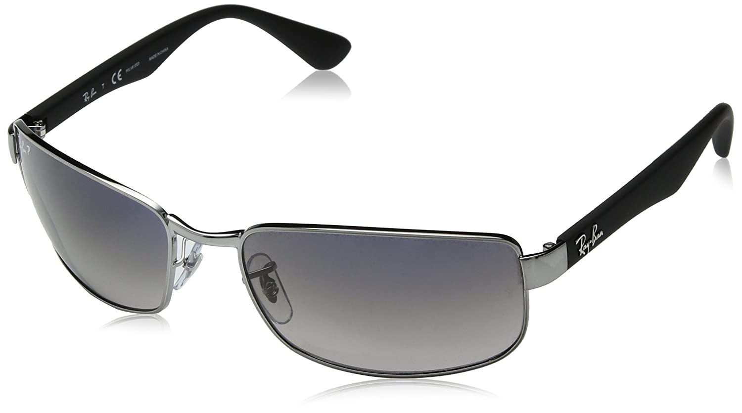 58dac24d53 Amazon.com  Ray-Ban RB3478 - 004 78 Polarized Sunglasses 60mm  Ray-Ban   Clothing