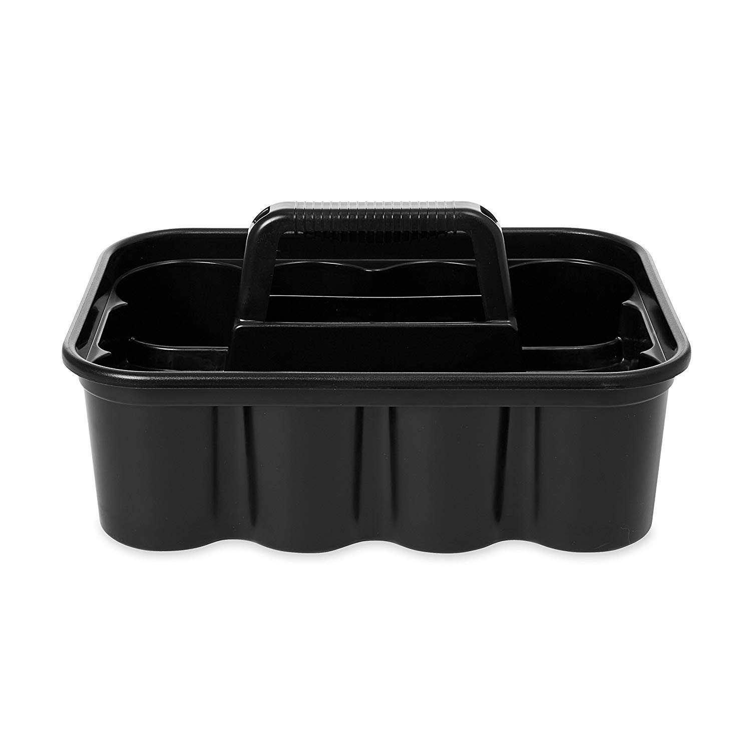 Deluxe Carry Cleaning Caddy, Black (FG315488BLA) by RubbermaidComercialProducts (Image #2)