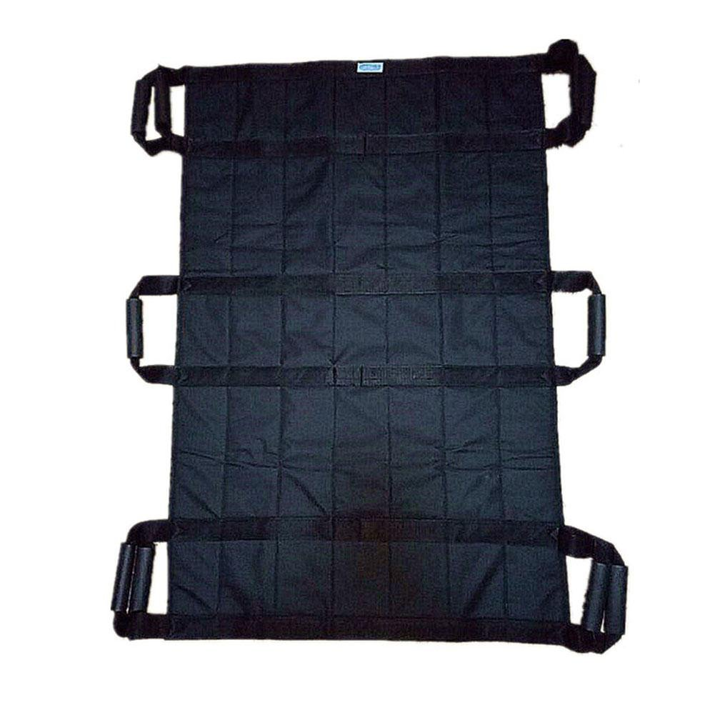 LUCKYYAN Healthcare H-11128 Lengthened Multi-Mover Plus Transfer / Slide Sheet - 3 People can lift,Black