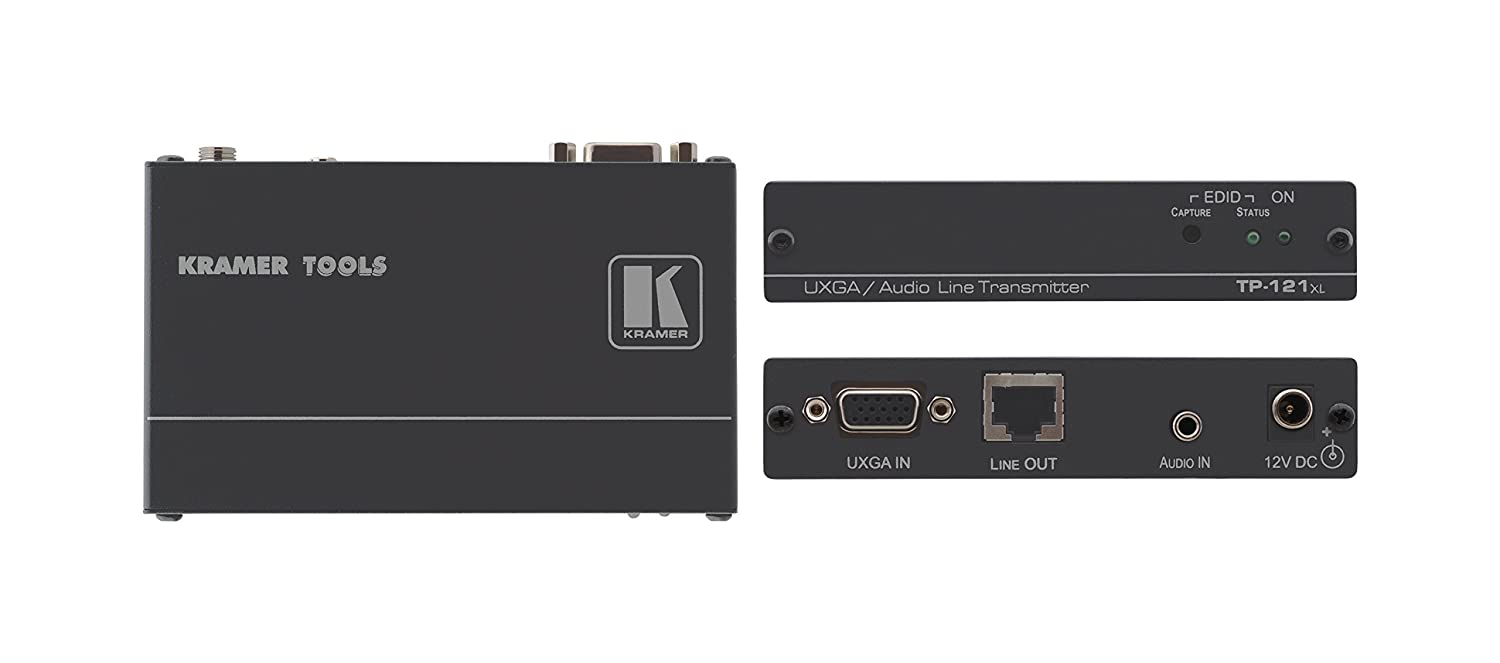 Kramer Electronics Computer Graphics Video & Stereo Audio over Twisted Pair Transmitter TP-121XL by Kramer B00XVZBISE