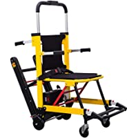 Electric Stair Climbing Wheelchair, Portable Electric Folding Stairs Climbing Wheelchair Lifting Chassis Intelligent Up and Down Stairs Elderly