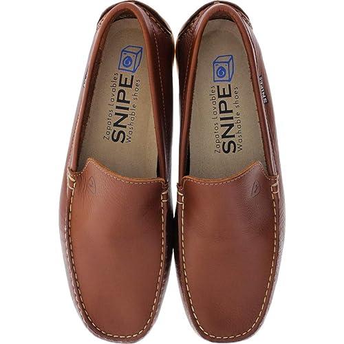 80671fc975c Snipe - Zapatos de Cordones de Cuero para Hombre Marrón marrón, Color Marrón,  Talla 46 EU: Amazon.es: Zapatos y complementos