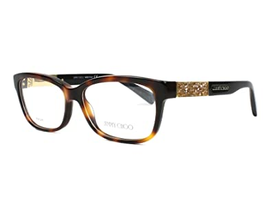 df148f3c018a Image Unavailable. Image not available for. Color: JIMMY CHOO Eyeglasses 110  ...