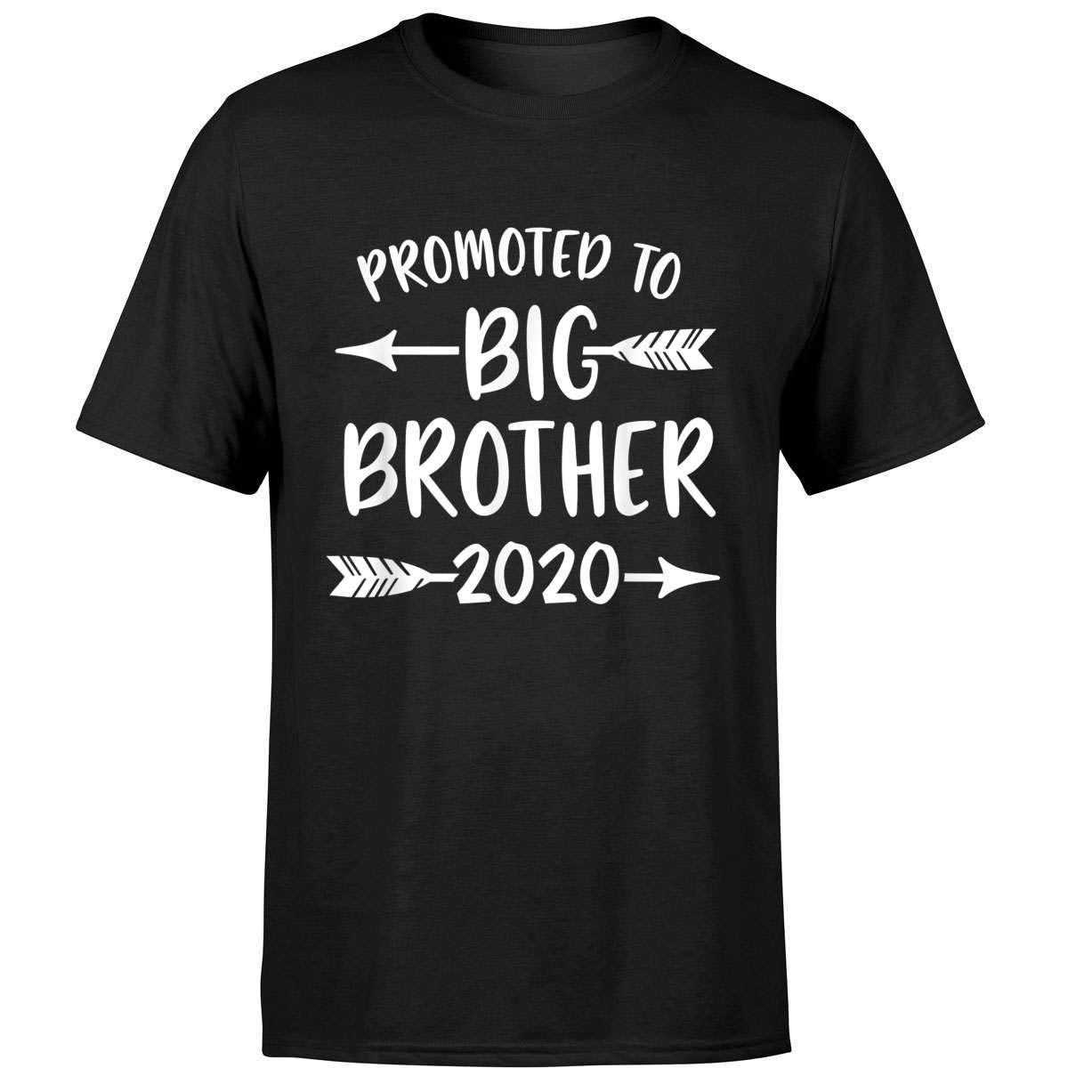 Promoted To Big Brother Est 2020 Vintage Arrow T Shirt
