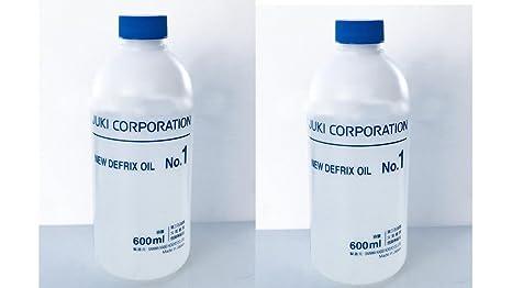 Juki JO1 Genuine Defrix Sewing Machine Oil, 600ml, EkonoPak Contains 2 Bottles