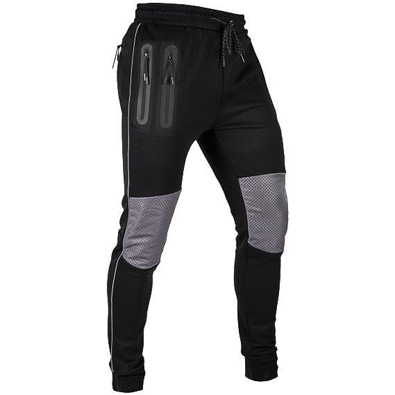 VENUM Laser Pantalones de Chandal, Hombre, Negro, XXL: Amazon.es ...