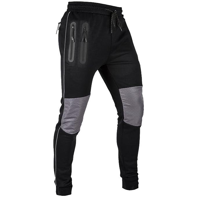 VENUM Laser Pantalones de Chandal, Hombre, Negro, XL: Amazon.es ...