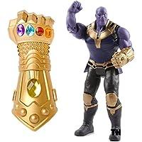 Won Avengers Thanos Figure & Thanos Glove - Avengers Toys Thanos Action Figure & Gauntlet Set