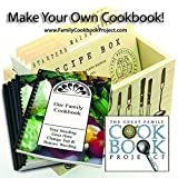 Software : Family Cookbook Project Software - Create Personalized Recipe Book with Layout Options, Photos and Stories - Quick, Convenient and Easy to Use - USA-Based Tech Support